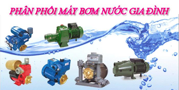 Máy bơm nước dân dụng và những hư hỏng thường gặp