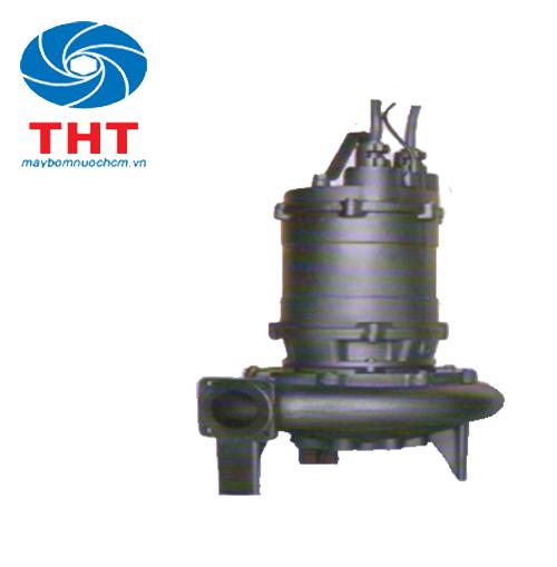 Bơm nước thải không phao EBARA-China 100 DML 55.5