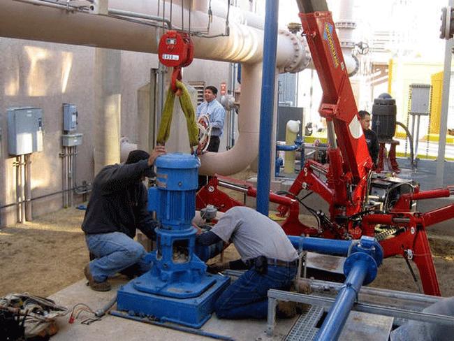 Hướng dẫn các bước tiến hành bảo dưỡng máy bơm công nghiệp