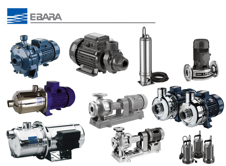 Ưu điểm của máy bơm chìm nước thải Ebara
