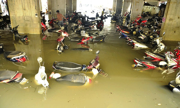 Máy bơm nước chống ngập cho các hộ gia đình