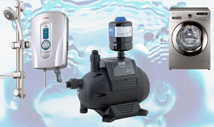 Máy bơm nước tăng áp bán chạy nhất hiện nay